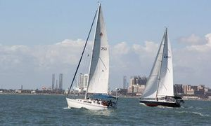 Groupon - Three-Hour Intro to Sailing Session for One or Two at South Coast Sailing Adventures in Kemah (Up to $ 318 Value) in Kemah. Groupon deal price: $79