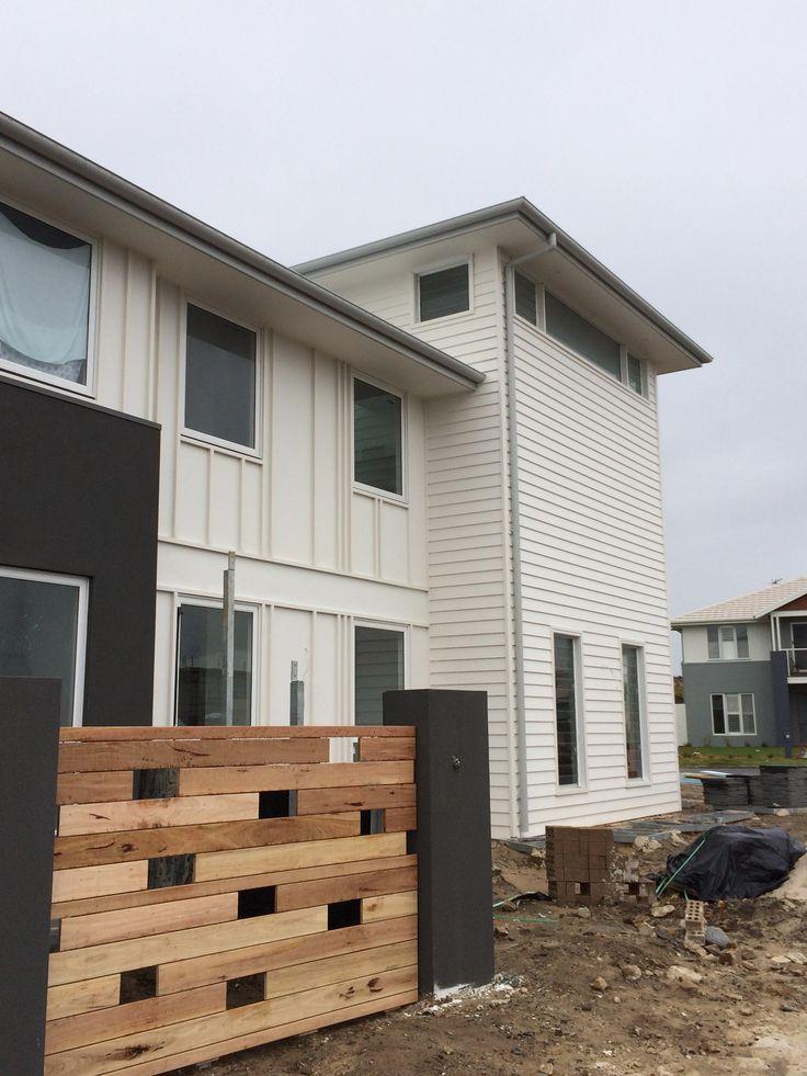 Greenhills Beach House, under construction June 2014