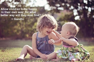 Ghandi quote on childhood