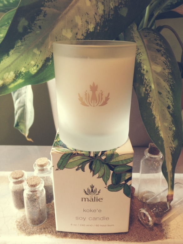 Malie Organics Soy Candles - Koke'e, Mango Nectar, Coconut Vanilla   $25.00 each