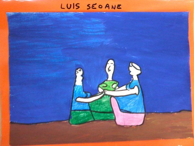 Luís Seoane. A conversa