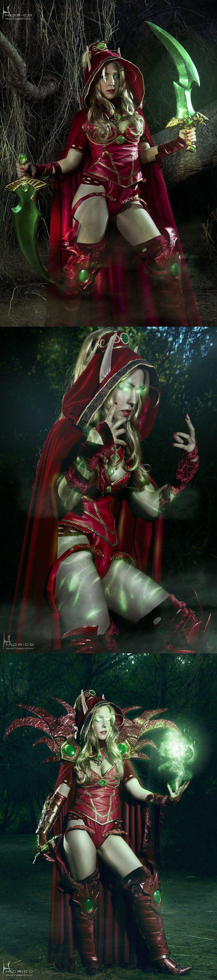 Valeera Sanguinar (from World of Warcraft 2) by Hidrico