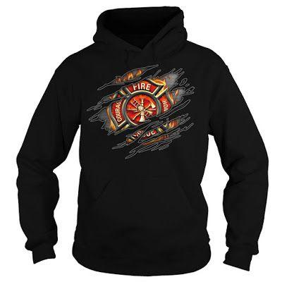 firefighter t shirts, firefighter hoodies, firefighter sweaters