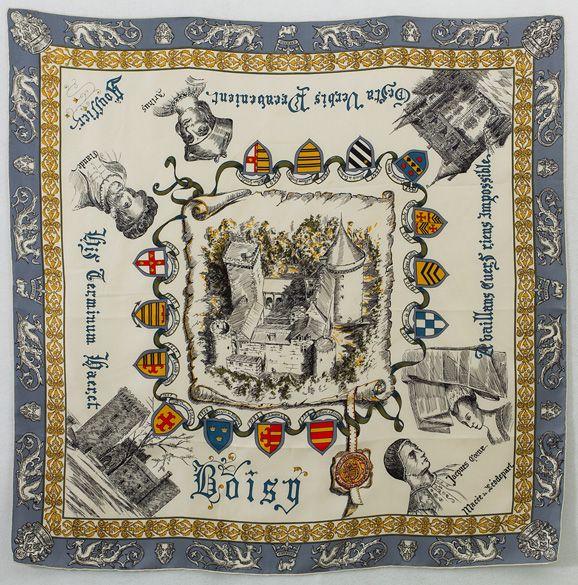 Vintage Hermes scarf.