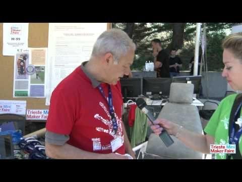 Trieste Mini Maker Faire: Determinazione del centro iniziale di rotazione del ginocchio - YouTube