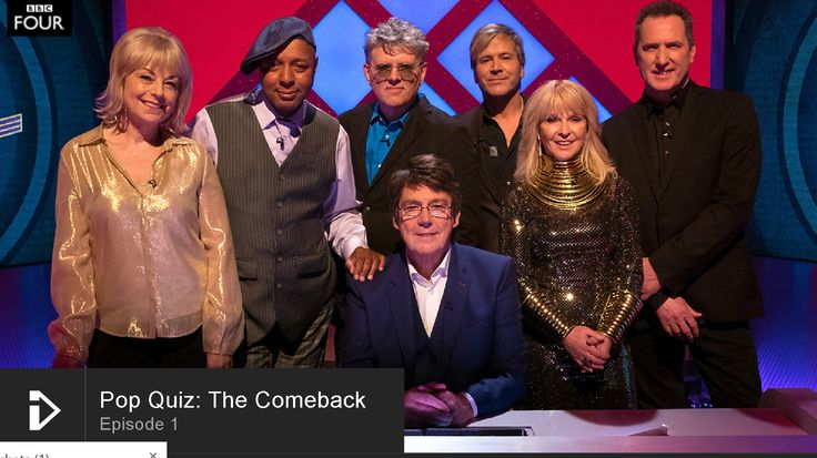 Pop Quiz: The Comeback – Episode 1 With Toyah, Tom Bailey, Andy McCluskey, Steve Norman