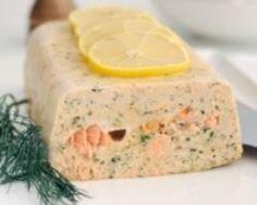 Terrine de saumon (facile, rapide)