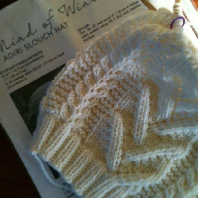 Ravelry: TwistedKnitter's Adiri Slouchy Hat