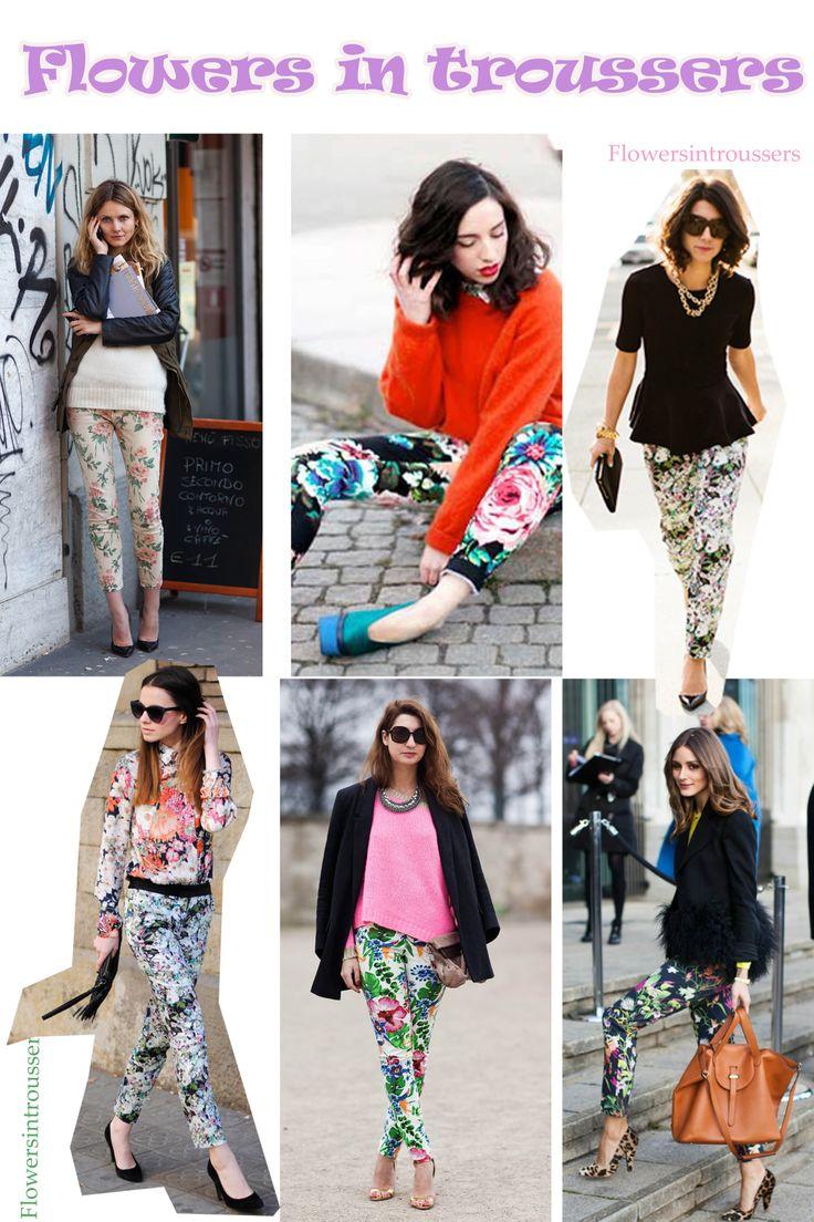 Flower pants inspiration