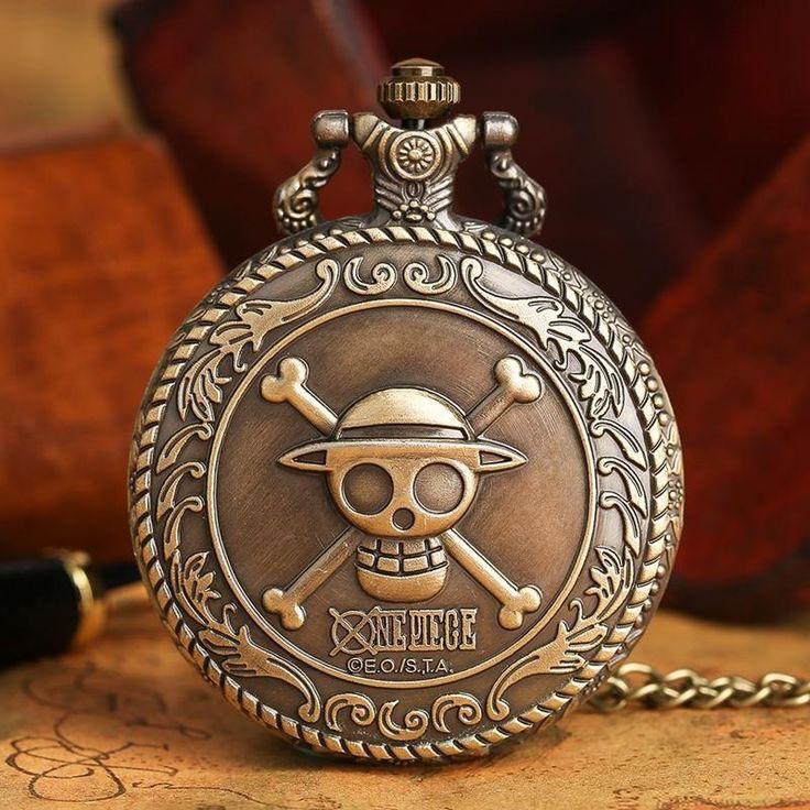 One Piece Quartz Pocket Watch  #anime #stuff #comic #merchandise #animeboy #animeart #animelover