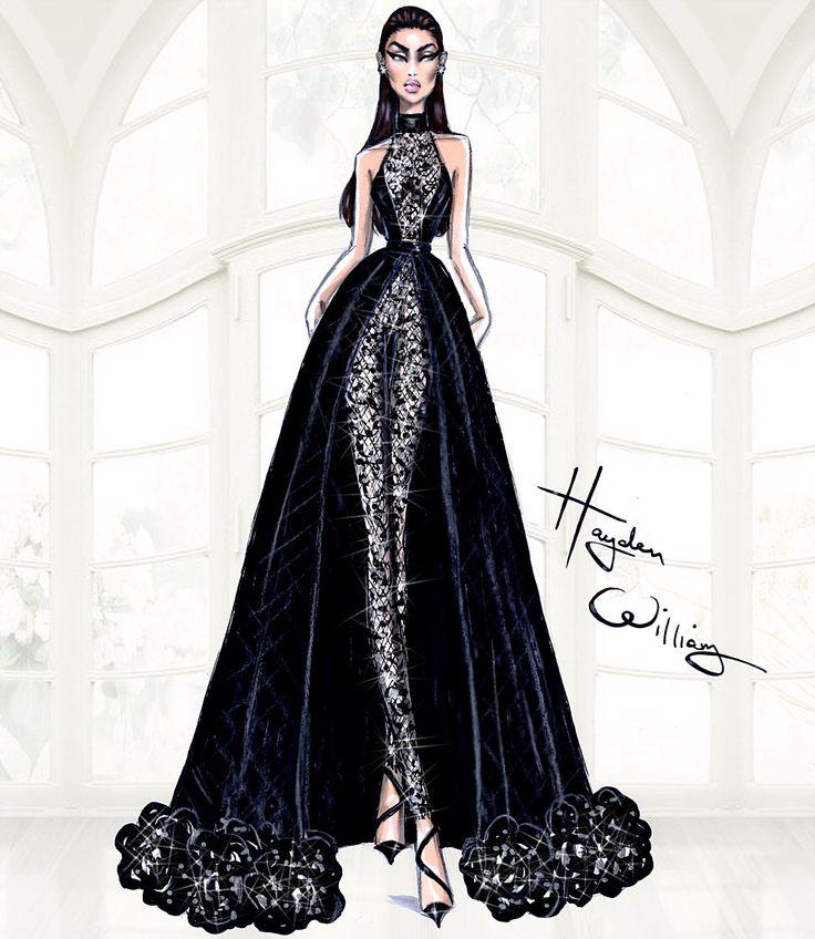 Hayden Williams Haute Couture SS15: Look 5