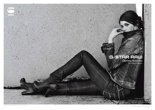 G-Star Raw - Gemma Arterton
