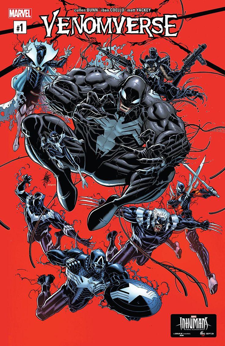 Venomverse (2017) #1 (of 5) - W.B.