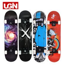 US $80.01 UGIN Freestyle Printing Street 19cm Long Skate Board Complete Graffiti Style Professional wooden Skateboard Skateboards Maple. Aliexpress product