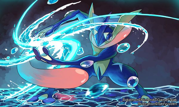 Pokemon - Greninja