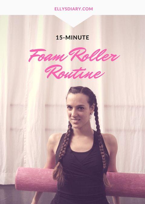 15-Minute Foam Roller Routine   Workout   Foam roller