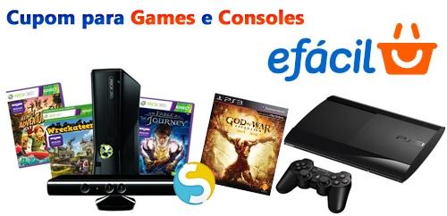 Aproveite para comprar consoles Xbox 360, PS3 e Nintendo Wii U. Assim como diversos títulos dos jogos mais procurados, com preço especial, desconto à vista + acumulativo com o cupom.