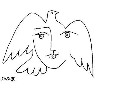 что картинка голубь мира пабло пикассо картинка признается звезда, быть