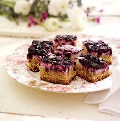 Recept på blåbärskaka i långpanna