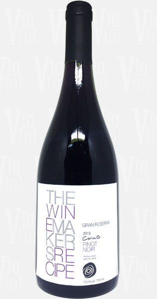 Vinho Winemakers Recipe Corinto Gran Reserva Pinot Noir   Via Vini
