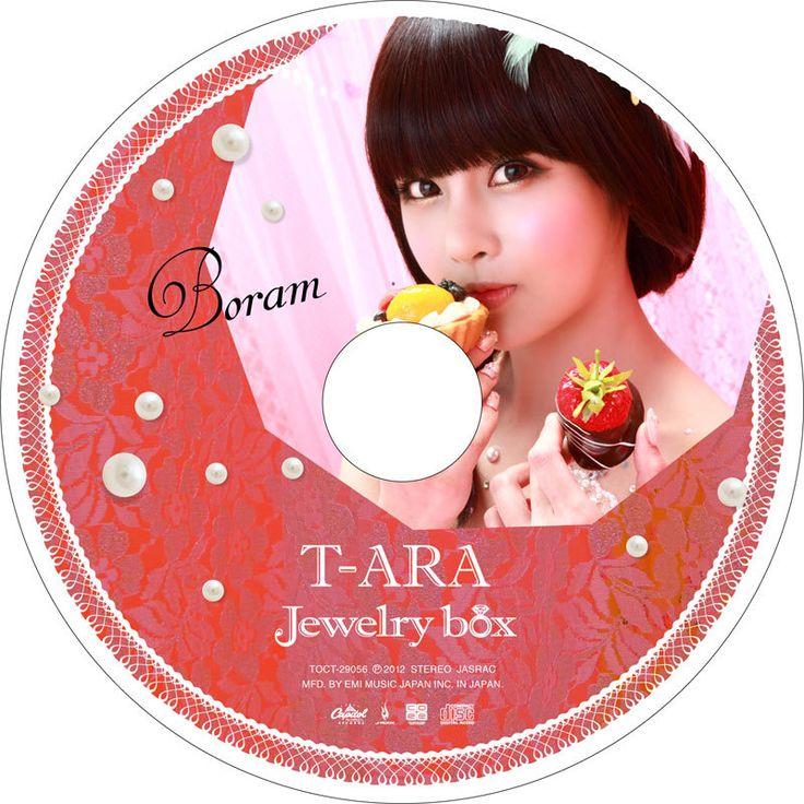 1stアルバム 『Jewelry box』パール盤  ピクチャーレーベル レーベルデザイン公開!
