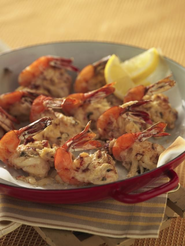 Baked Stuffed Jumbo Shrimp is an American classic, and this recipe may very well get added to your list of family favorites.