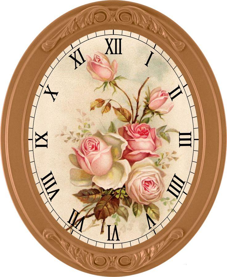 Картинки овальных часов