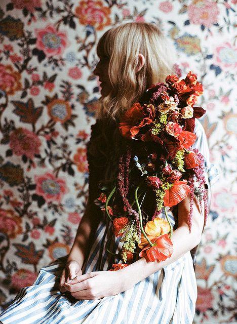 Kinfolk Flowers shot by Parker Fitzgerald by Amy Merrick, via Flickr