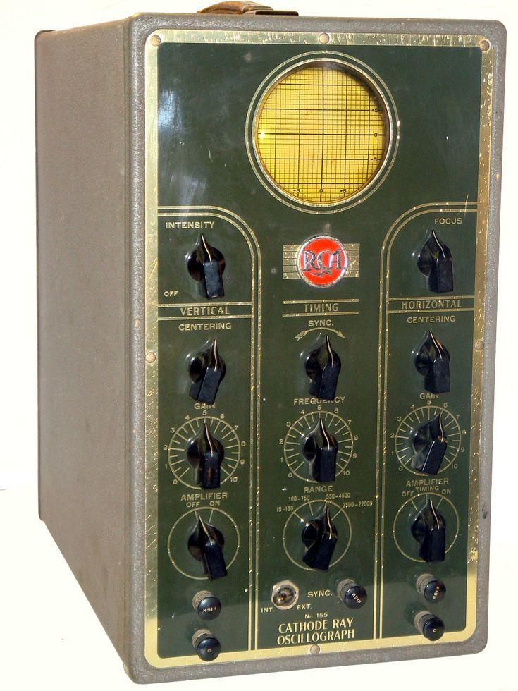 RCA Model 155 - Vintage Electronics Test Equipment