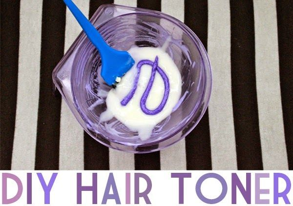 DIY Purple Hair Toner | Neon Rattail