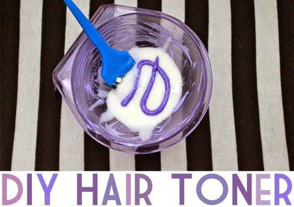 DIY Purple Hair Toner   Neon Rattail