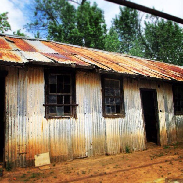 Rustic shed in Karoo