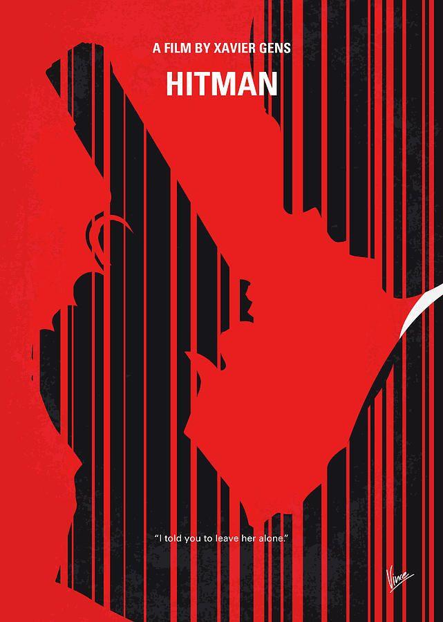 No874 My Hitman Minimal Movie Poster By Chungkong Art In 2020 Minimal Movie Posters Movie Posters Poster