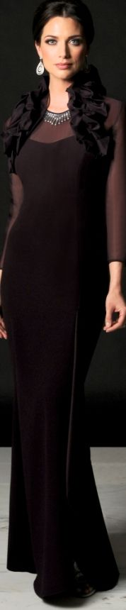 Rosamaria G Frangini | High Chic Fashion | Class | Daymor Couture