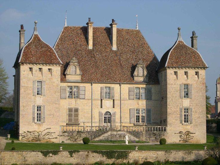 Château de Filain, Haute Saône.  16 ème.