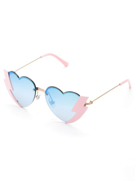sretsis(スレトシス)通販 |Thunder Heart Sunglasses Thunder Heartサングラス(PNK)