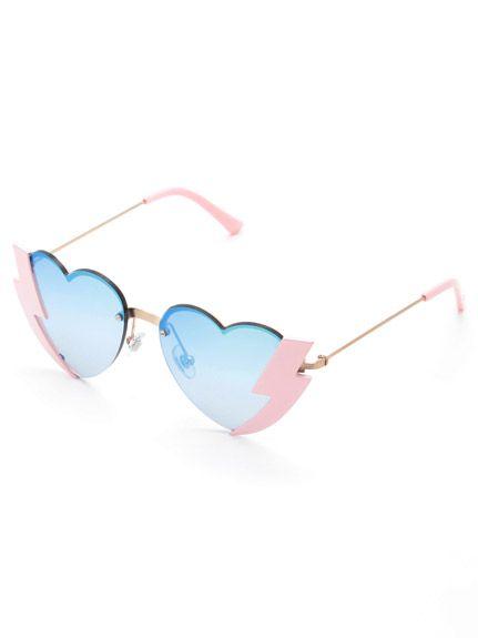 sretsis(スレトシス)通販 |Thunder Heart Sunglasses Thunder Heartサングラス(PNK)