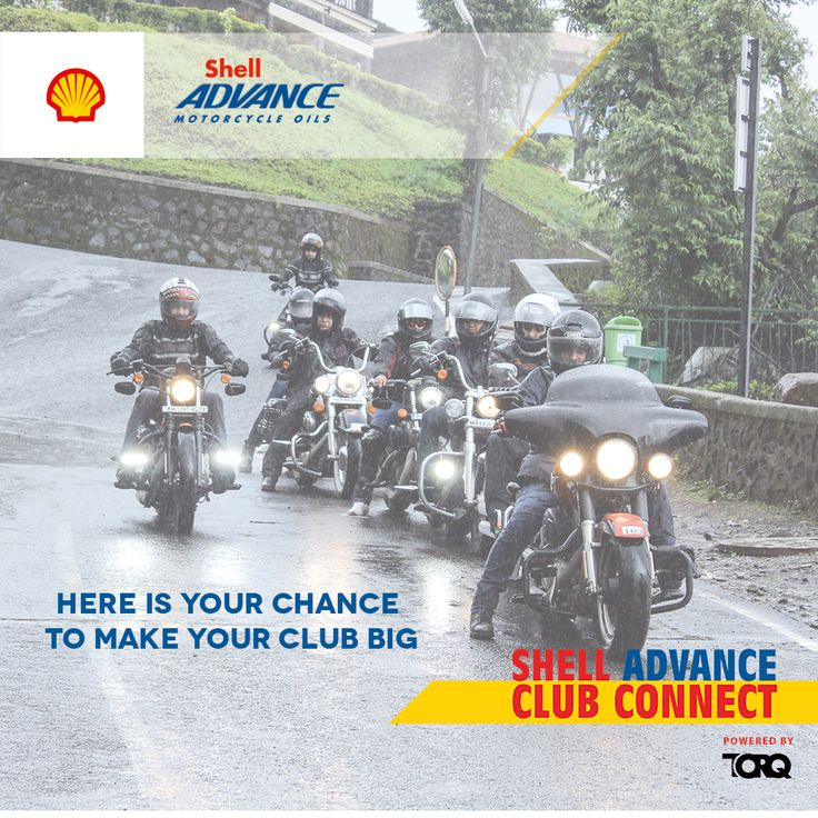 Shell Advance Club Connect @TORQ App.  Find out more about the motorcycling community, their stories, their accolades & their pulse. Download the TORQ app from Playstore, share your club's story and stay connected #TheWinningIngredient #TORQ #TORQapp