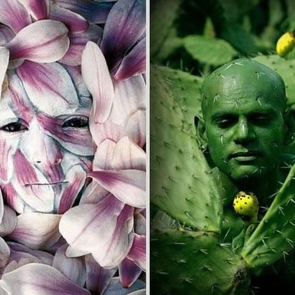 Amazing Body Art Illusions by Johannes Stoetter. Can You Spot The Hidden People?  #bodypainting #bodyart #art #illusion