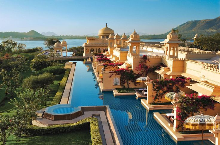 The Oberoi hotel in Udaipur