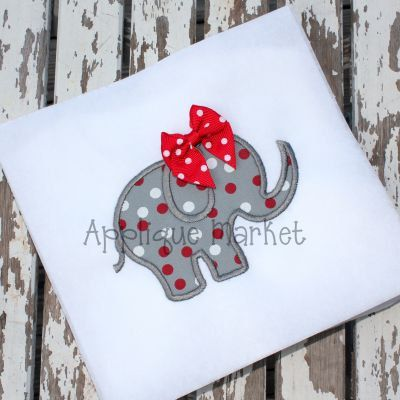 Machine+Embroidery+Design+Applique+Elephant+2++by+tmmdesigns,+$4.00