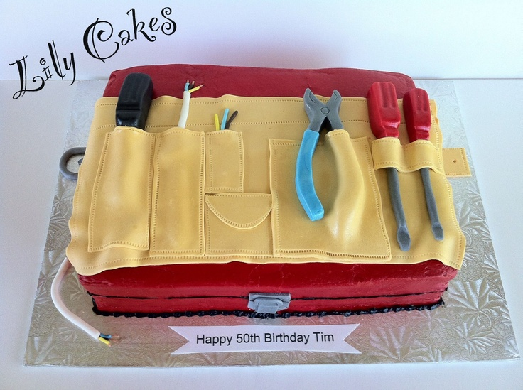 Pictures Of Tool Box Birthday Cakes