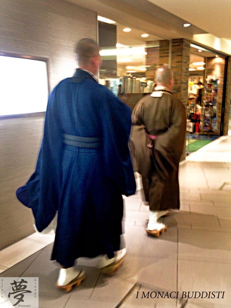 Monks going shopping   #japan #kyoto