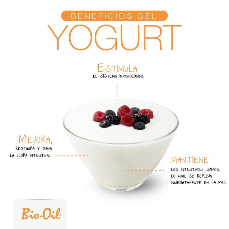 ¿Por qué comer yogurt? #Alimentacion #Salud #Bienestar.