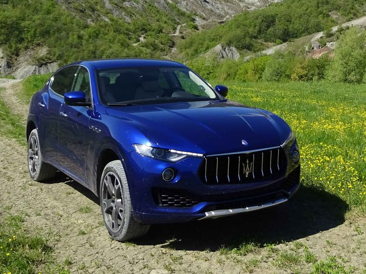 Test Drive Maserati Levante: on road & offroad