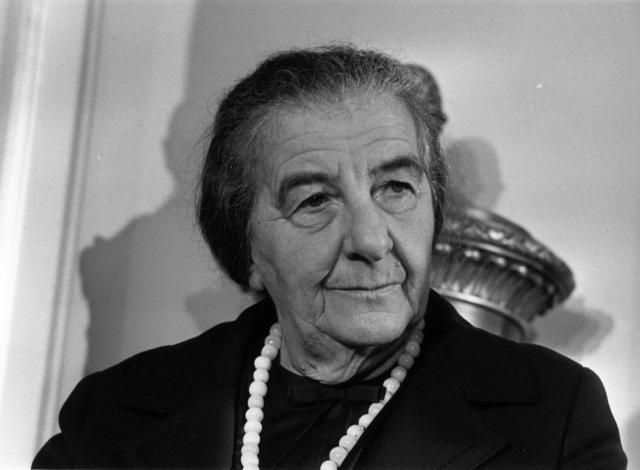 a biography of golda meir the first female prime minister of israel