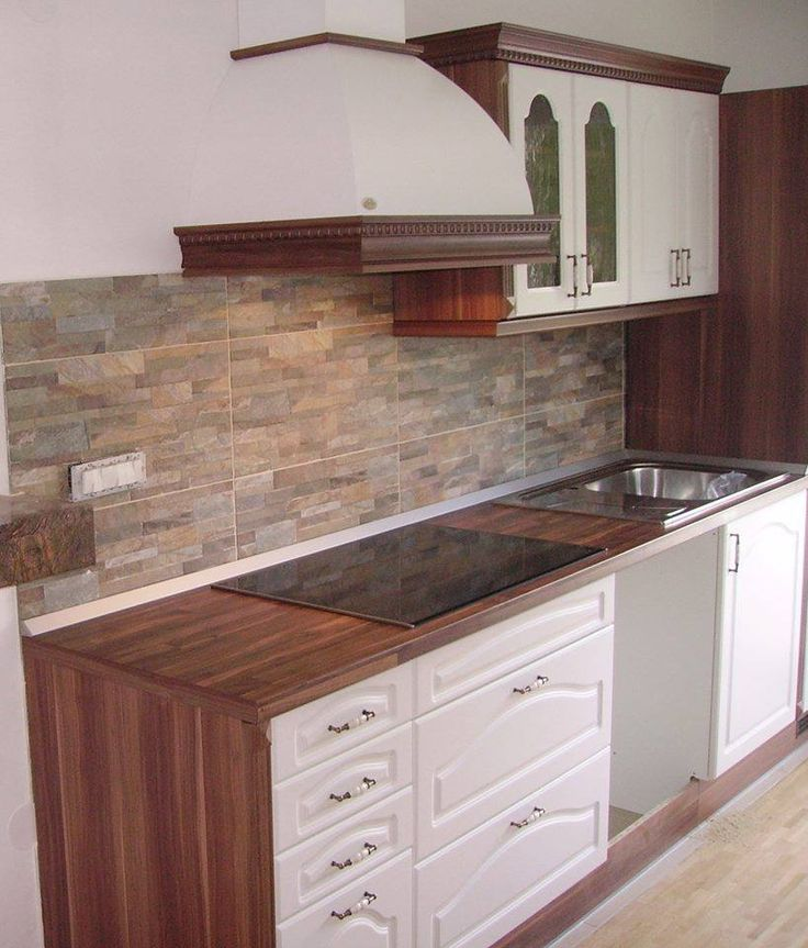 Rusticla kitchen with 3D foiled fronts
