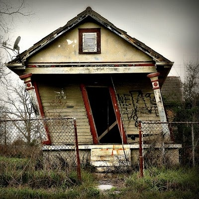 Abandoned house, New Orleans