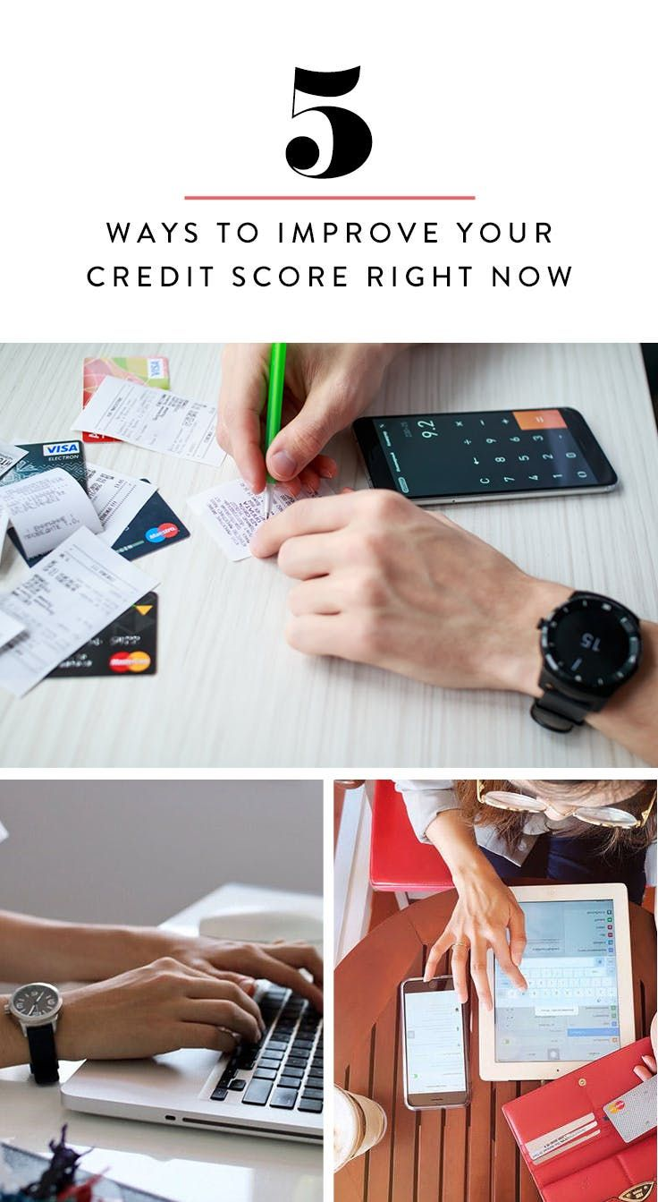5 Ways to Improve Your Credit Score…Quickly via @PureWow