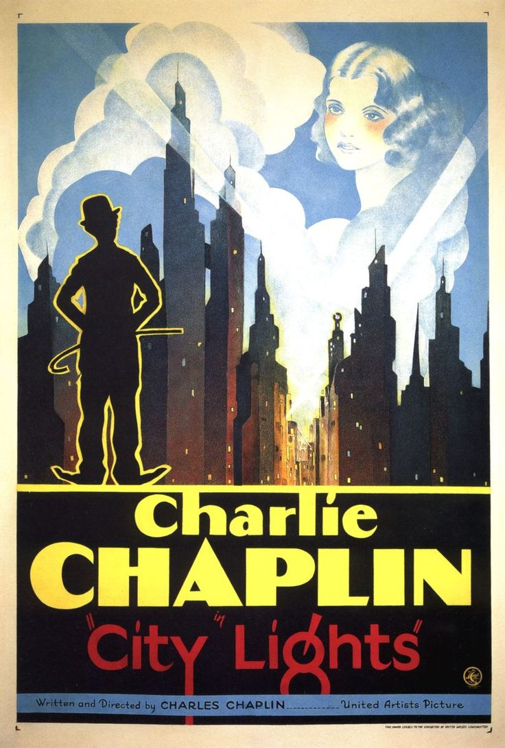 City Lights - Charlie Chaplin 1931.  Chaplin did not want to stop making silent movies even after sound.  Neither did Mary Pickford.